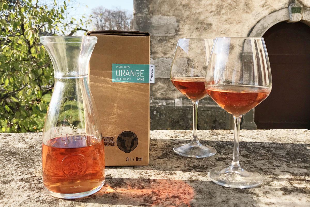 Orange wine deze feestdagen?