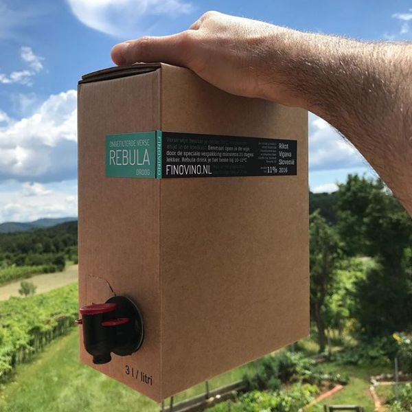 FINOVINO Sloveense wijnen - Rebula in 3L bag-in-box