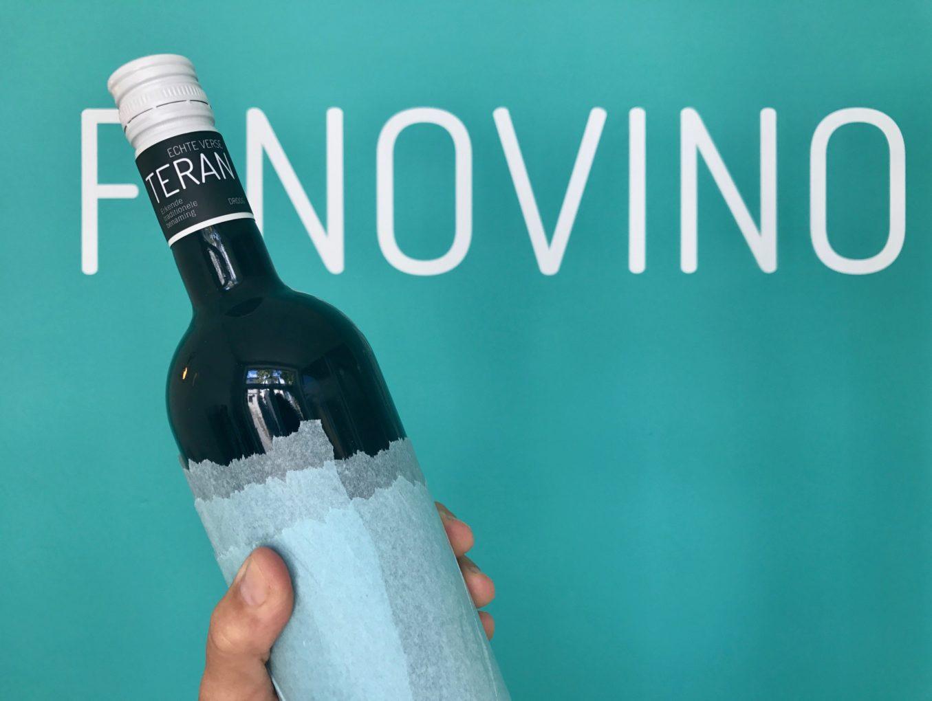 Kraški Teran 2017 in fles